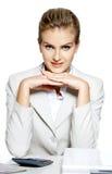 portret biznesowa kobieta Fotografia Stock