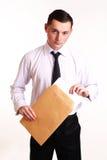 Portret biznesowy mężczyzna Zdjęcia Stock