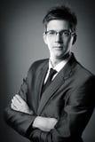 Portret biznesowy mężczyzna Obrazy Stock