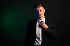 Portret biznesowy mężczyzna Obrazy Royalty Free