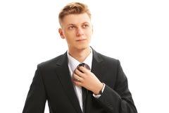 Portret biznesowy mężczyzna Zdjęcia Royalty Free