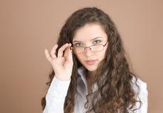 portret bizneswomanu young Zdjęcia Stock