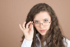 portret bizneswomanu young Obrazy Stock