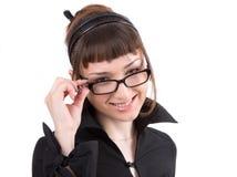 portret bizneswomanu young Obraz Stock