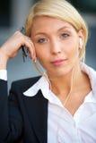 portret bizneswomanu young Zdjęcie Stock