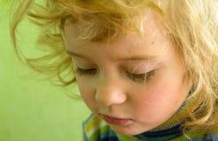 Portret blondynki śliczna dziewczyna Zdjęcie Royalty Free