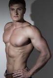 Portret bodybuilder Obrazy Royalty Free