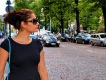 Portret brunetka Obraz Royalty Free