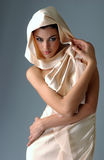 Portret brunetki kobieta Fotografia Stock