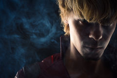 Portret brutalny mężczyzna Fotografia Stock