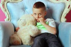 Portret chłopiec zdjęcie royalty free