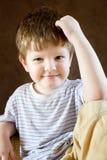 Portret chłopiec troszkę Obraz Royalty Free