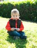 Portret chłopiec Zdjęcia Stock