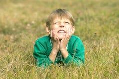 Portret chłopiec Zdjęcia Royalty Free