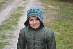 Portret chłopiec Obrazy Royalty Free