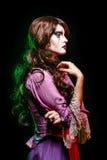 Portret czarownica Zdjęcie Royalty Free