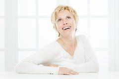 Portret czterdzieści rok kobiet Zdjęcie Royalty Free