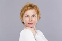 Portret czterdzieści rok kobiet Obraz Royalty Free