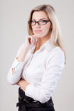 Portret da mulher de negócio Imagem de Stock Royalty Free