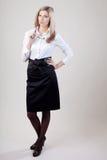 Portret da mulher de negócio Foto de Stock Royalty Free