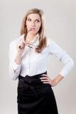 Portret da mulher de negócio Fotos de Stock