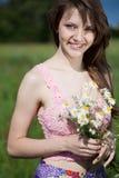 Portret da rapariga Imagens de Stock