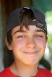 Portret del muchacho Fotografía de archivo