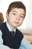 Portret dello scolaro Fotografia Stock