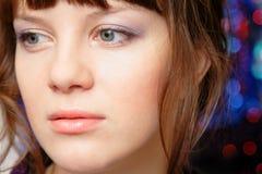 portret dorosła target1313_0_ kobieta Obrazy Stock