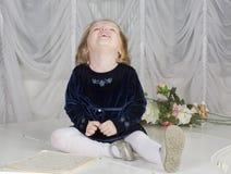 Portret dwa roczniaka dziecko Zdjęcie Stock