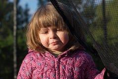 Portret dwuletnia dziewczyna Zdjęcia Royalty Free