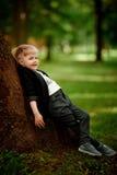 Portret dzieciak chłopiec Obrazy Royalty Free