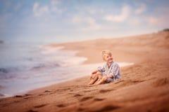 Portret dzieciak chłopiec Obraz Royalty Free