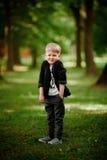 Portret dzieciak chłopiec Zdjęcia Royalty Free