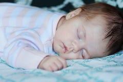 portret dziecko śpi Obrazy Stock