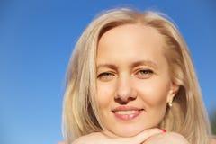 Portret dziewczyna Fotografia Royalty Free