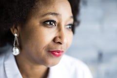 Portret dziewczyna afrykanin Zdjęcie Royalty Free