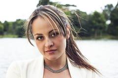 Portret dziewczyna od Bogotà ¡ zdjęcie royalty free