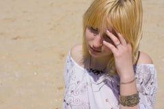 Portret dziewczyna outdoors Zdjęcie Stock