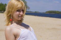 Portret dziewczyna outdoors Zdjęcia Stock