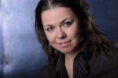 Portret Dziewczyna w Studiu fotografia royalty free