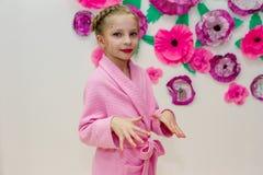 Portret dziewczyna z makeup Zdjęcia Stock