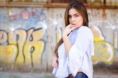 - portret dziewczyny zdjęcie stock