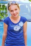 portret dziewczyny Obraz Royalty Free