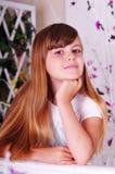 - portret dziewczyny Zdjęcia Royalty Free