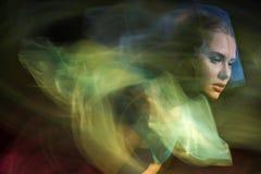 Portret dziewczyny model w studiu obraz royalty free