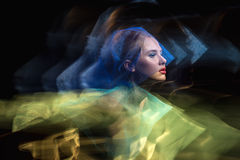 Portret dziewczyny model w studiu, brać z obraz royalty free