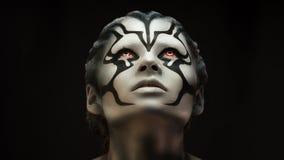 Portret dziewczyny pięknej dziewczyny makijażu fachowy artysta obraz stock