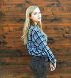 Portret dziewczyny piękna zmysłowa blondynka Zdjęcia Stock