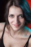 Portret een aardige jonge Georgische vrouw Royalty-vrije Stock Afbeeldingen